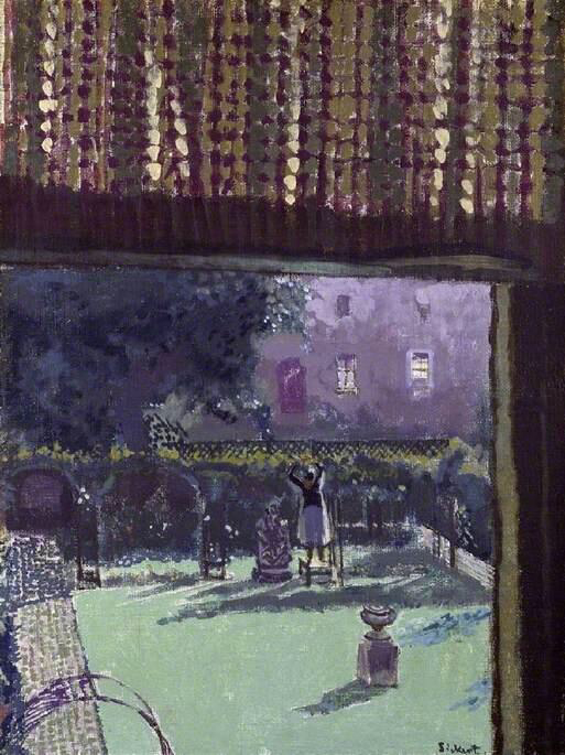 The Garden of Love - Walter Richard Sickert