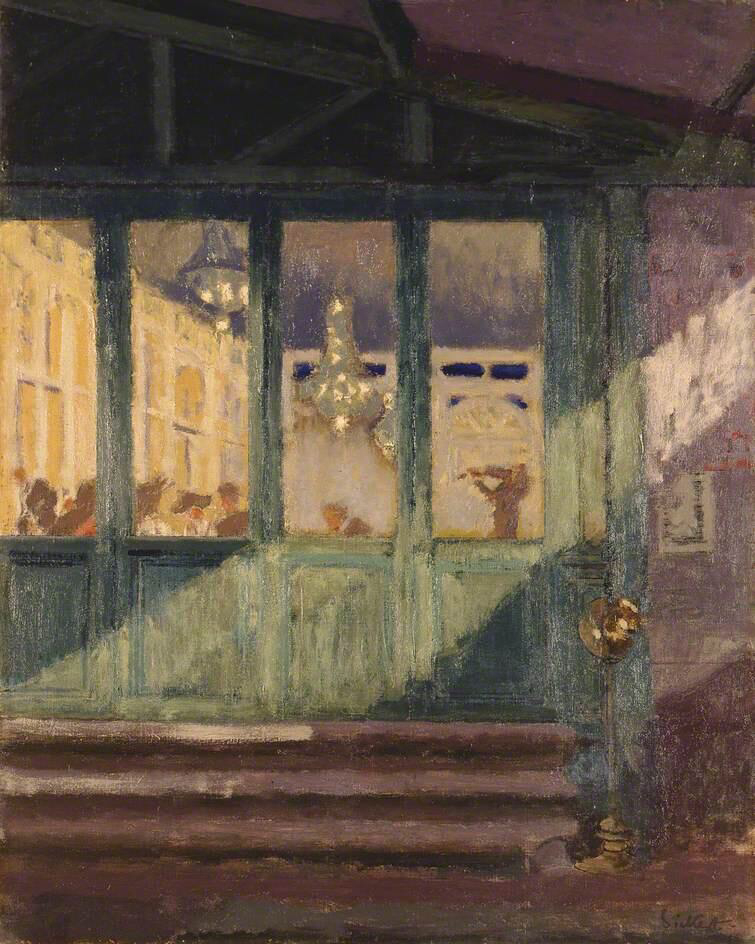 O nuit d'amour - Walter Richard Sickert