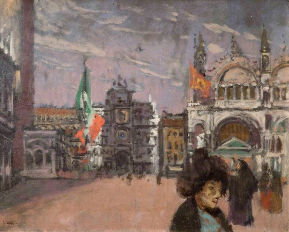Piazza San Marco, Venice - Walter Richard Sickert