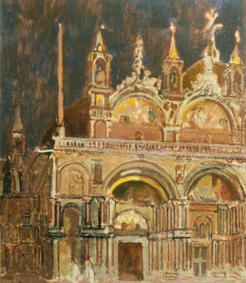 San Marco at Night - Walter Richard Sickert