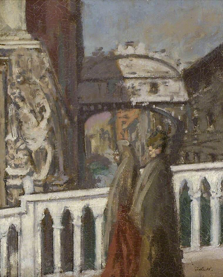 The Bridge of Sighs, Venice - Walter Richard Sickert