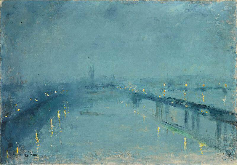 London In The Fog - Lesser Ury