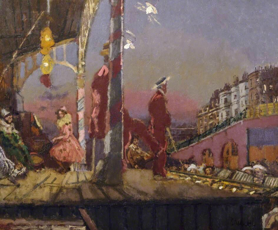 The Brighton Pierrots - Walter Richard Sickert