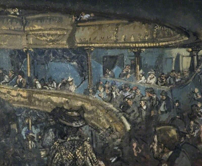 The Eldorado, Paris - Walter Richard Sickert