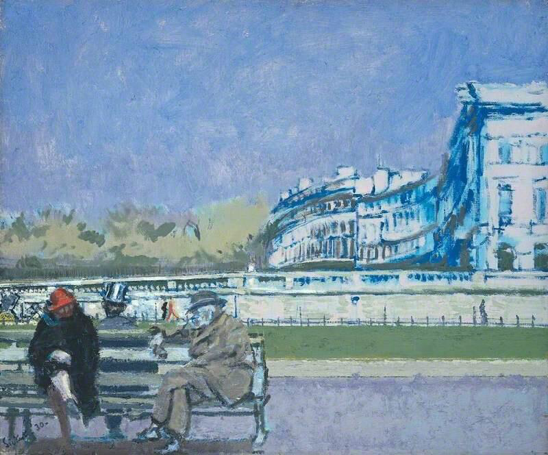 The Front at Hove - Walter Richard Sickert