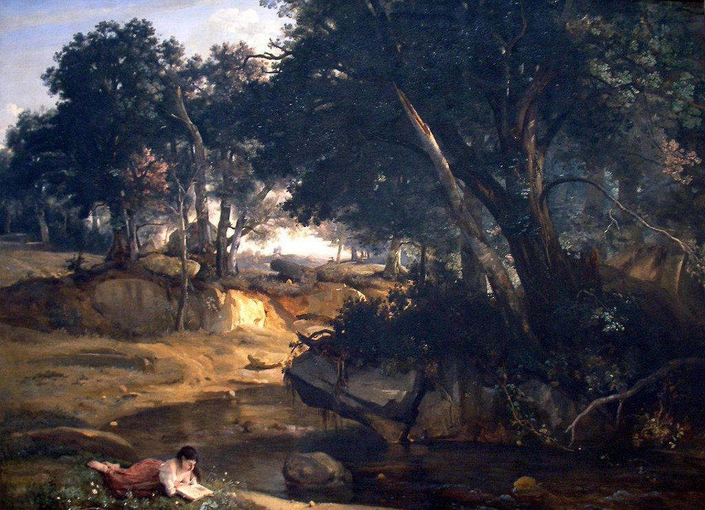 View of the Forest of Fontainebleau - Camille Corot