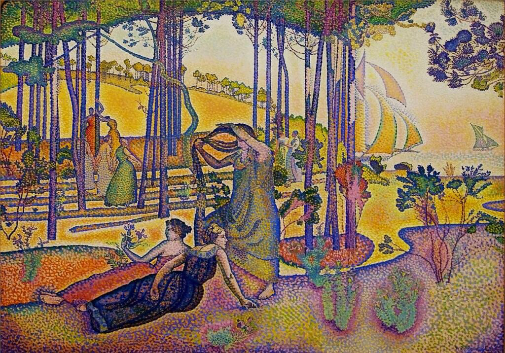 The Evening Air - Henri-Edmond Cross