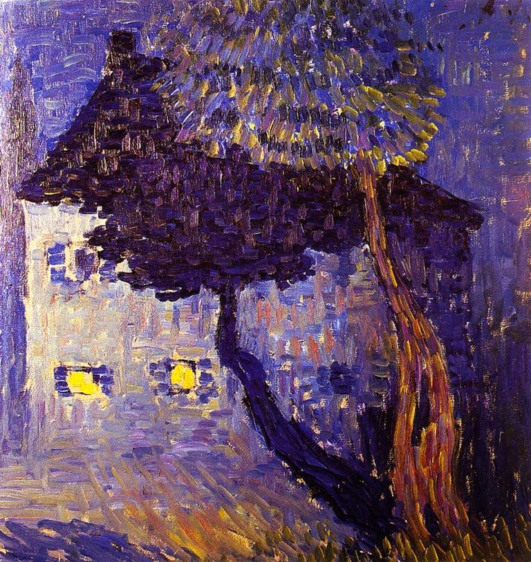 Cottage in the Woods - Alexei Jawlensky