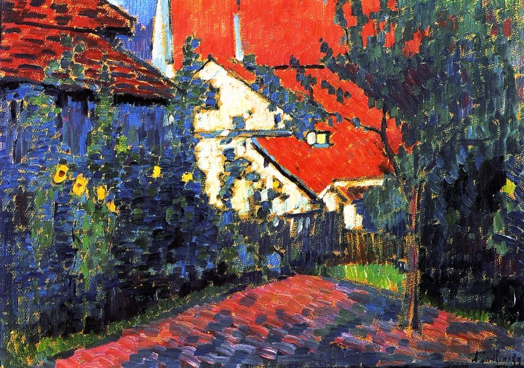 Red Roofs - Alexei Jawlensky