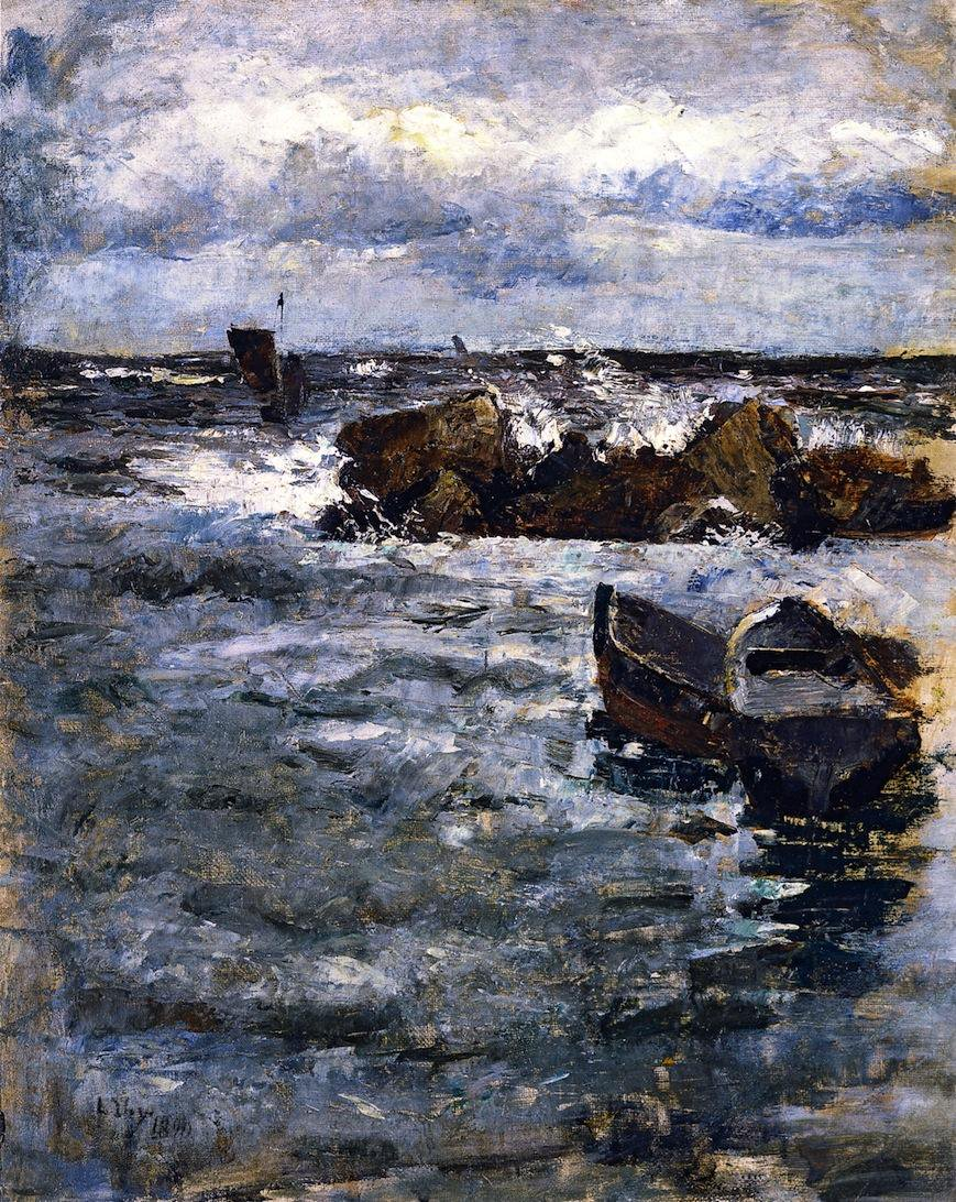 Rocks at Capri - Lesser Ury