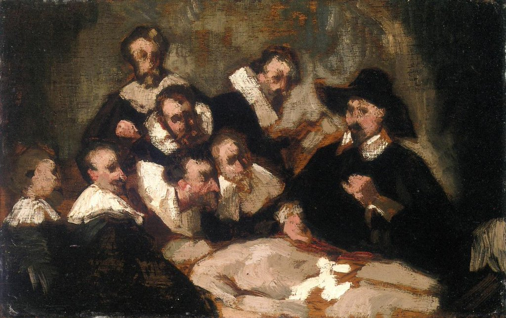 The Anatomy Lesson - Édouard Manet