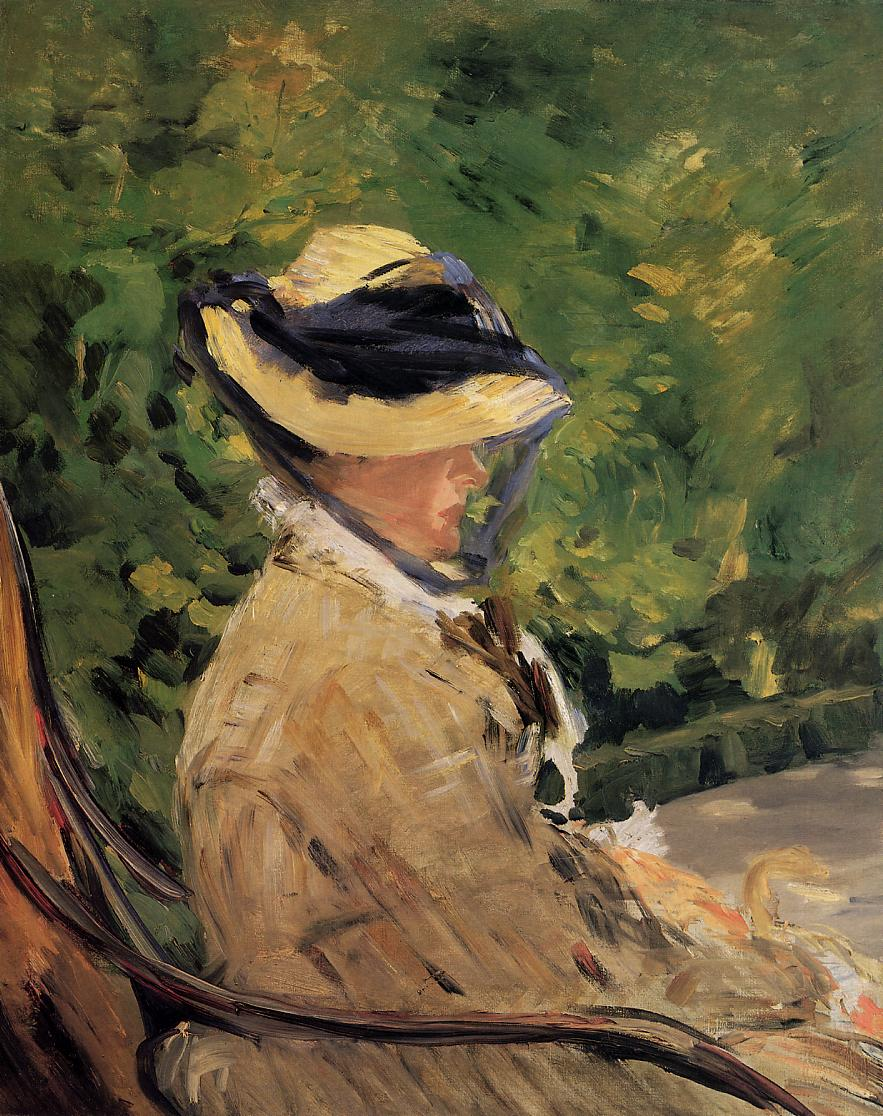 Madame Manet at Bellevue - Édouard Manet