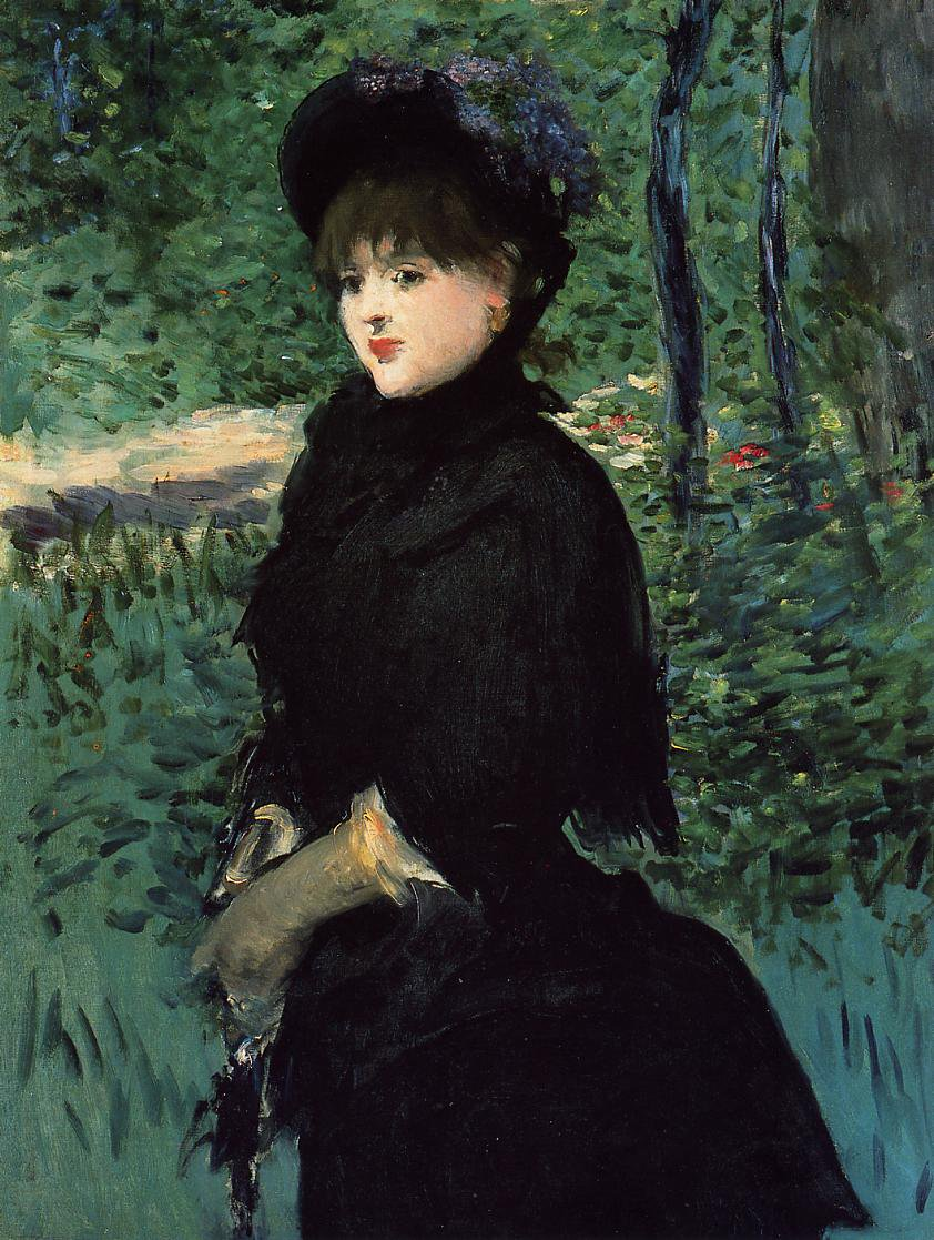 The Promenade - Édouard Manet