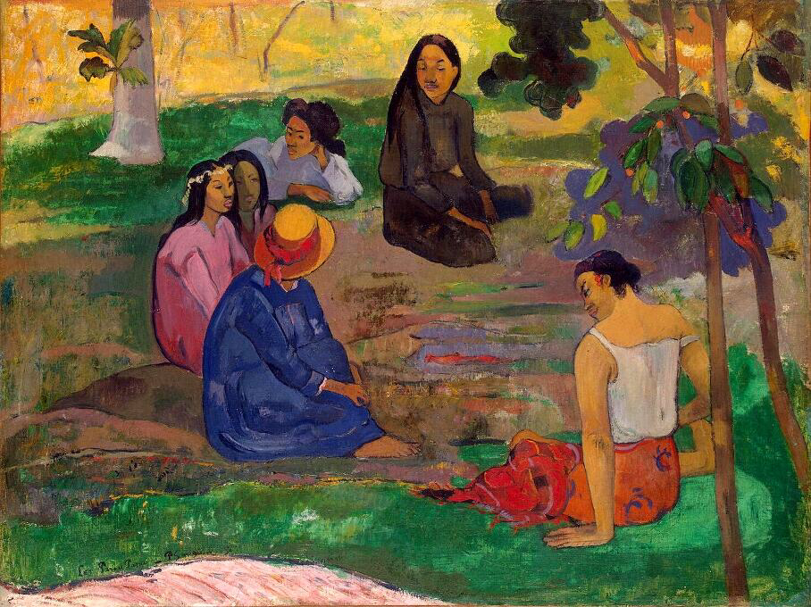 Conversation - Paul Gauguin