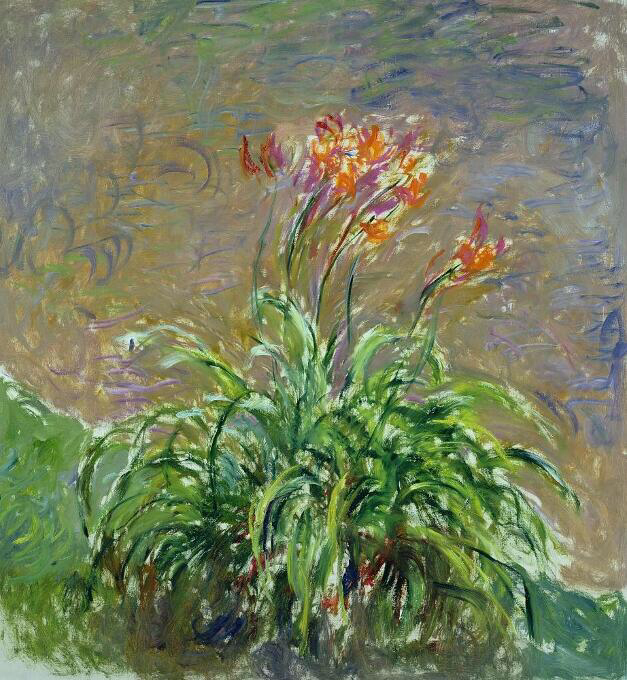 Hemerocallis - Claude Monet