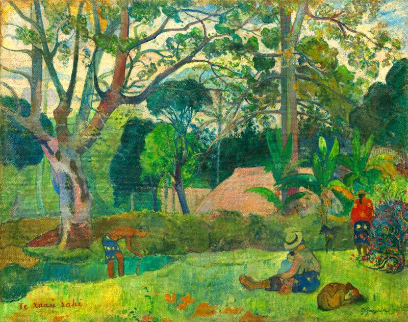 The Big Tree - Paul Gauguin