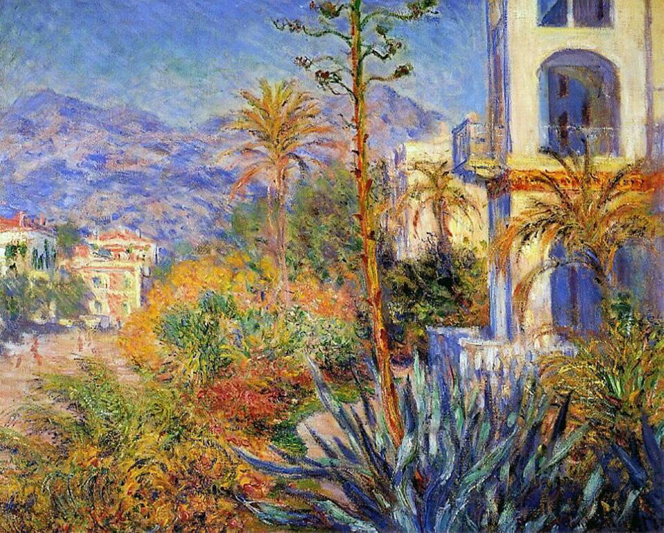 Villa at Bordighera - Claude Monet