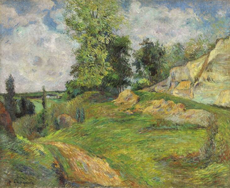 The Quarries of Le Chou near Pontoise - Paul Gauguin