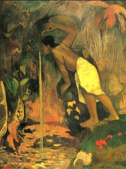 Mysterious Waters - Paul Gauguin