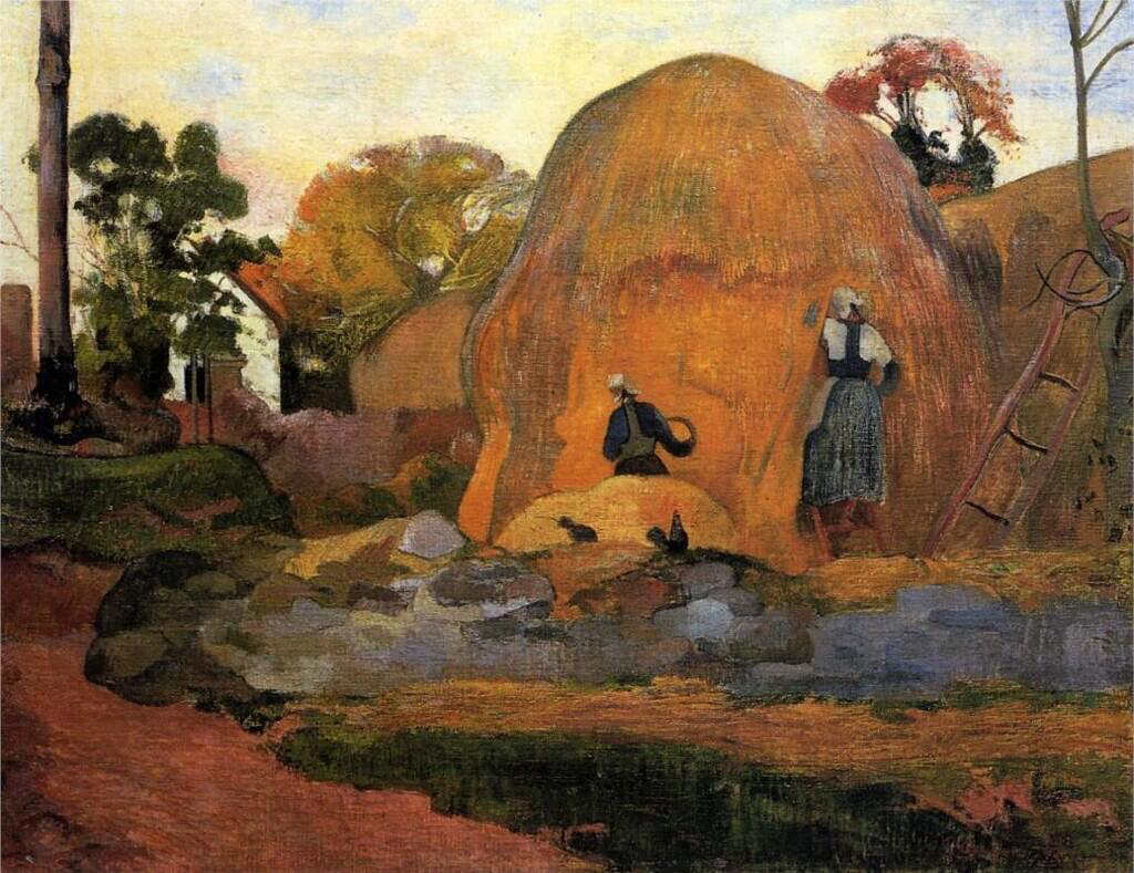 Yellow Haystacks - Paul Gauguin
