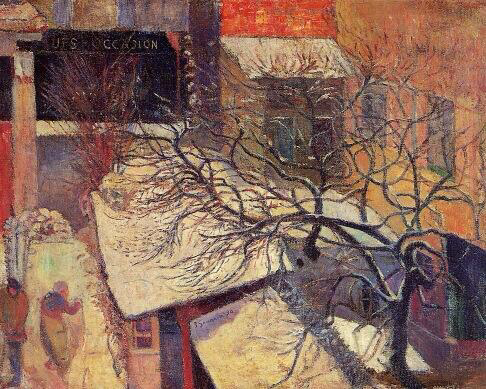 Paris in the Snow - Paul Gauguin