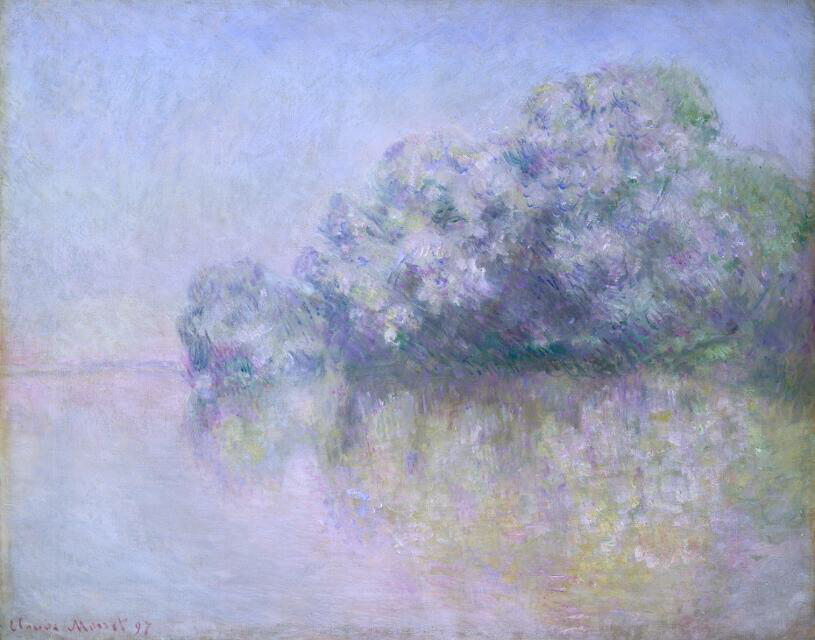 Île Aux Orties near Vernon - Claude Monet