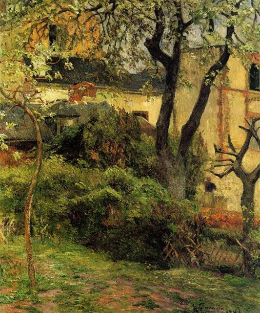 Rouen At Spring - Paul Gauguin