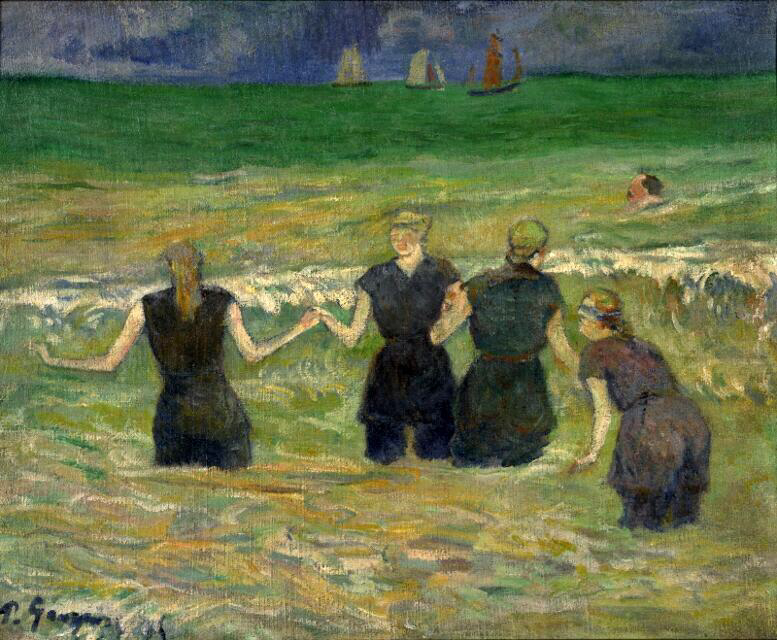 Women Bathing - Paul Gauguin