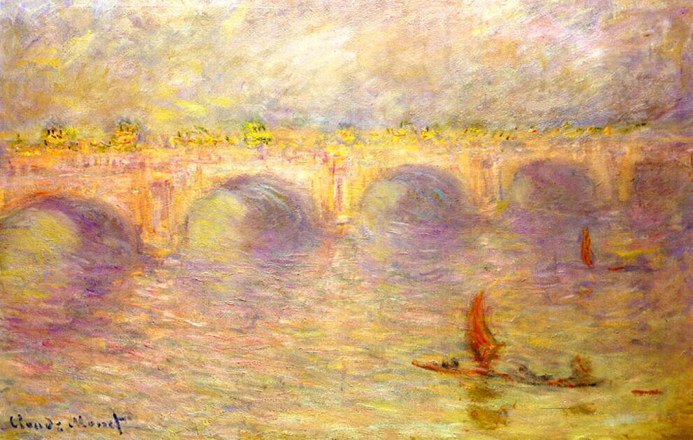 Waterloo Bridge - Claude Monet