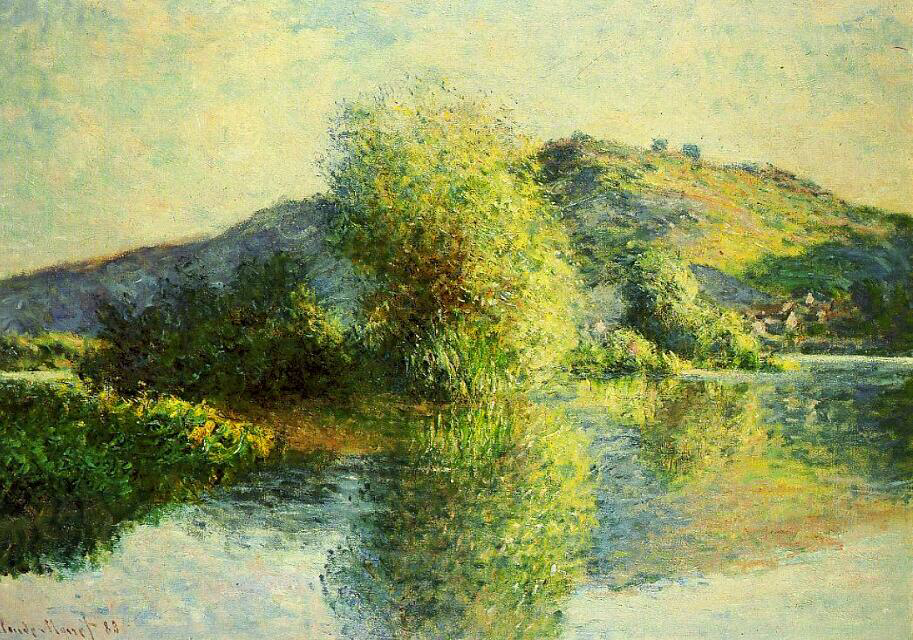 Isleets at Port-Villez - Claude Monet