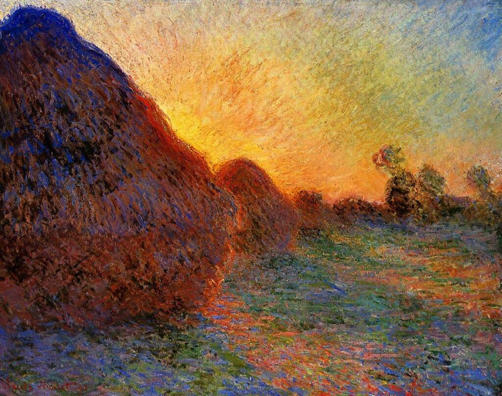 Grainstacks - Claude Monet