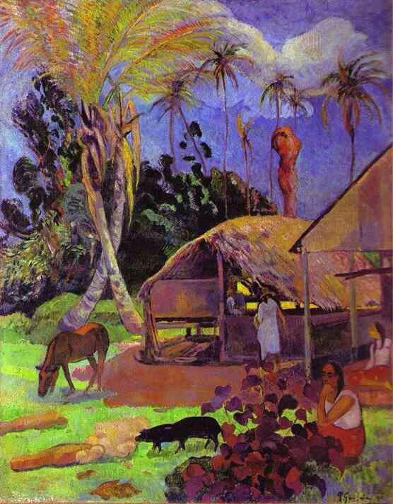 Black Pigs - Paul Gauguin