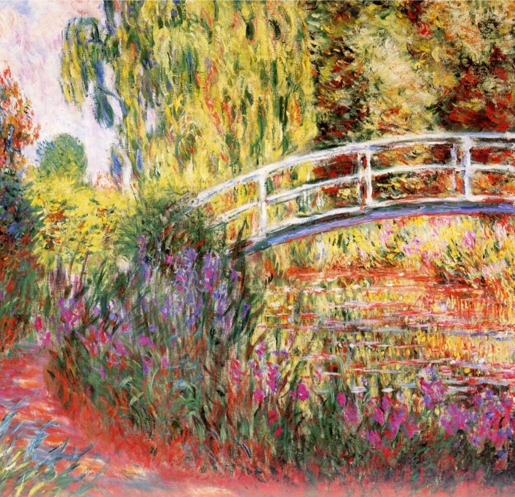 Pond With Nympheas - Claude Monet