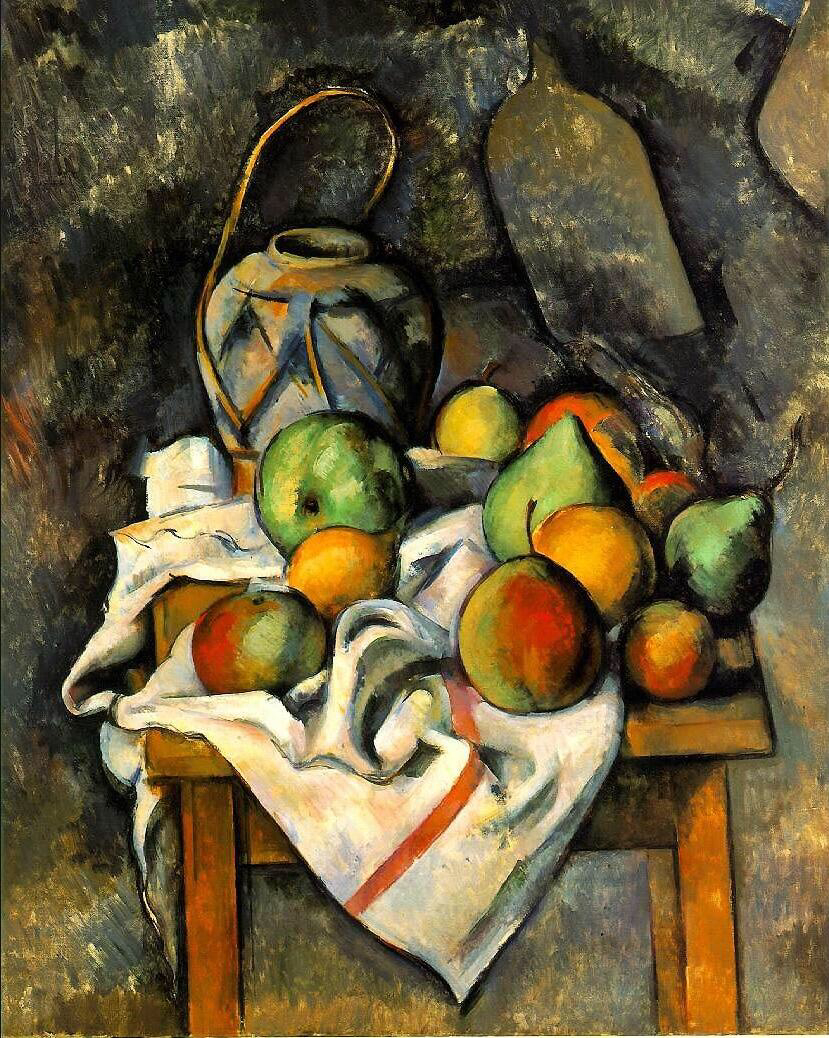 Ginger Jar - Paul Cézanne