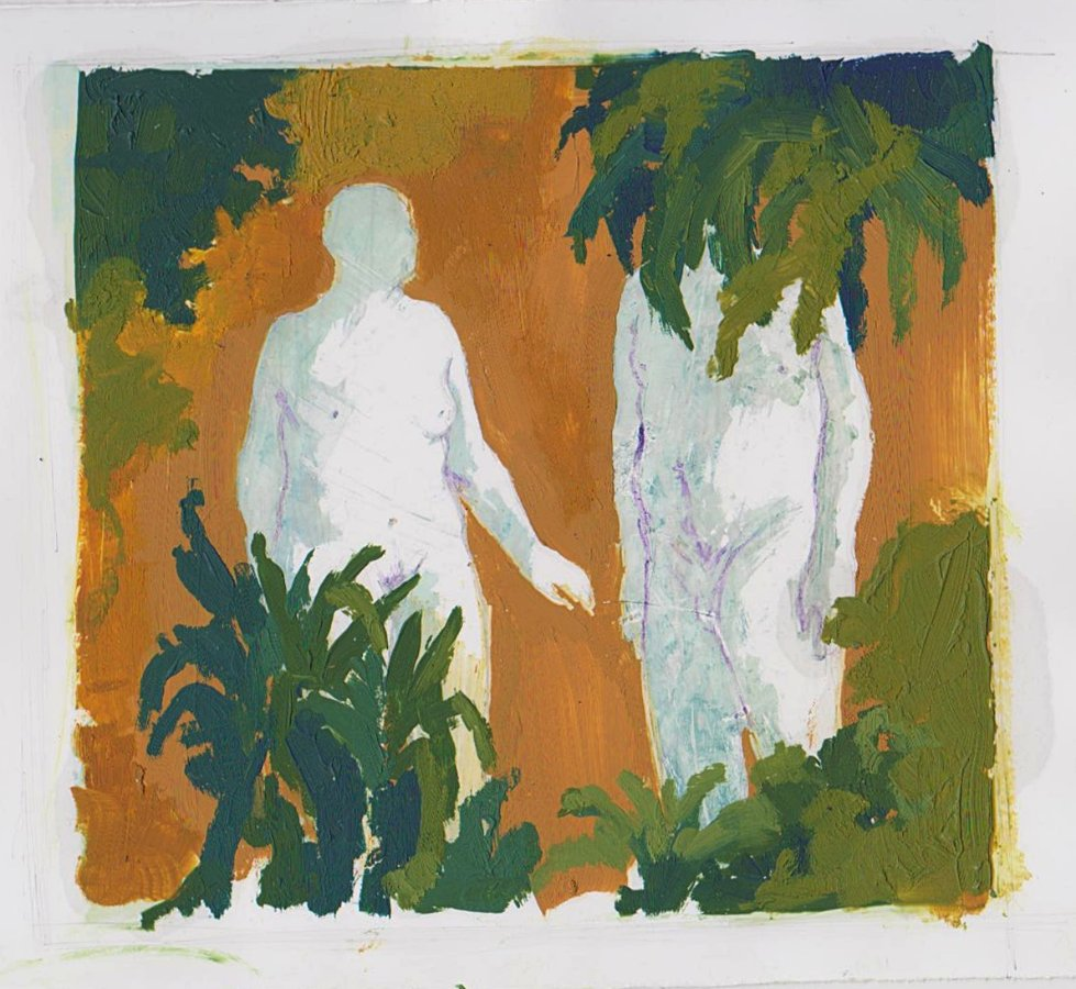 adam and eve by fenman