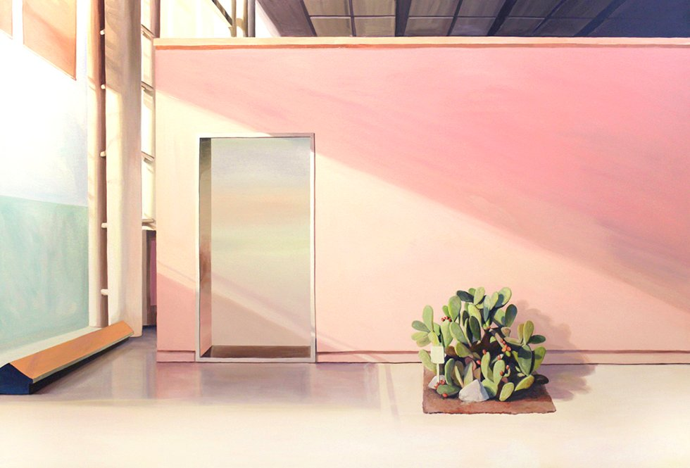 Pink Wall by An, Sohyun